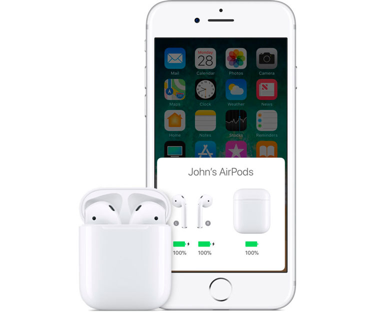 Synchronize the AirPods again