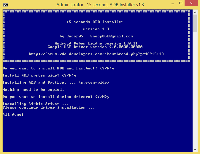 ADB-and-Fastboot-Installation