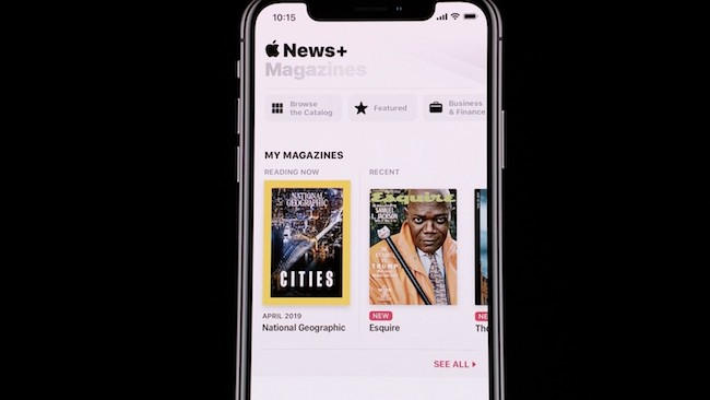 Apple News Plus Reaches 200 Thousand Subscribers in 48 Hours