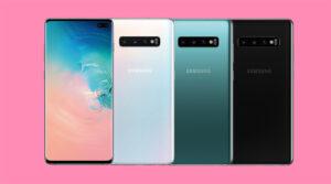 Galaxy S10 Plus Colors