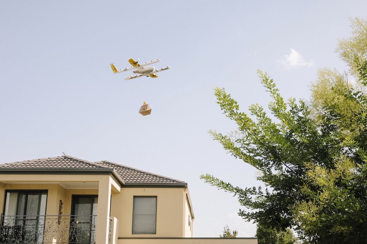 Google's Wing drones