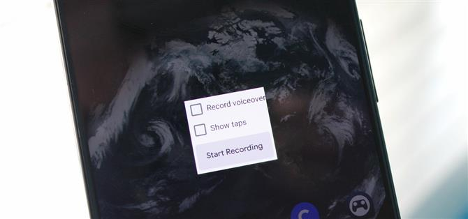 How to enable the built-in screen recorder in Android 10