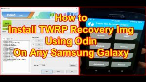 Install TWRP Recovery using Odin