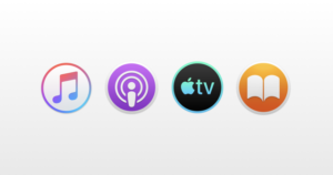 New Icons for Apple Apps