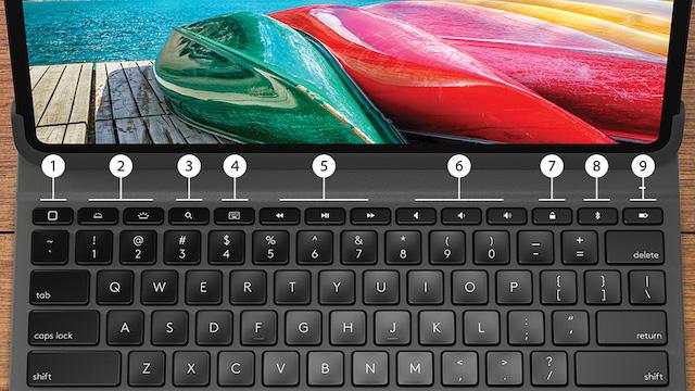 Slim Folio Pro keyboard