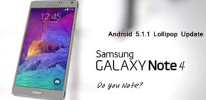 T-Mobile Note 4 5.1.1 Firmware