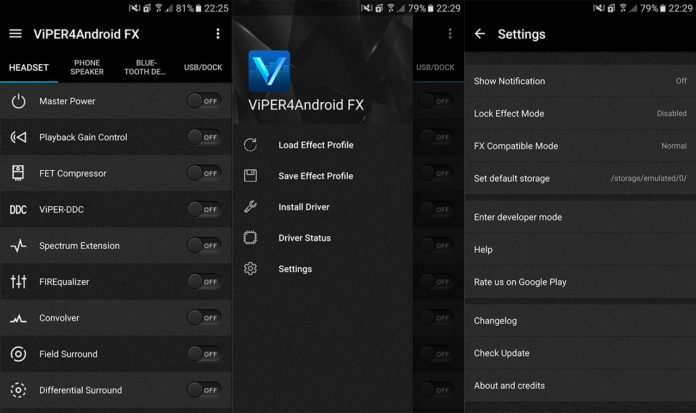 Viper4Android on Nougat
