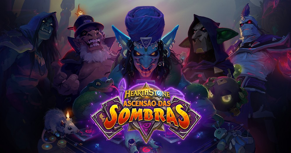 Shadow Rise Now Available at Hearthstone - Photo: Divulgaon / Blizzard Entertainment