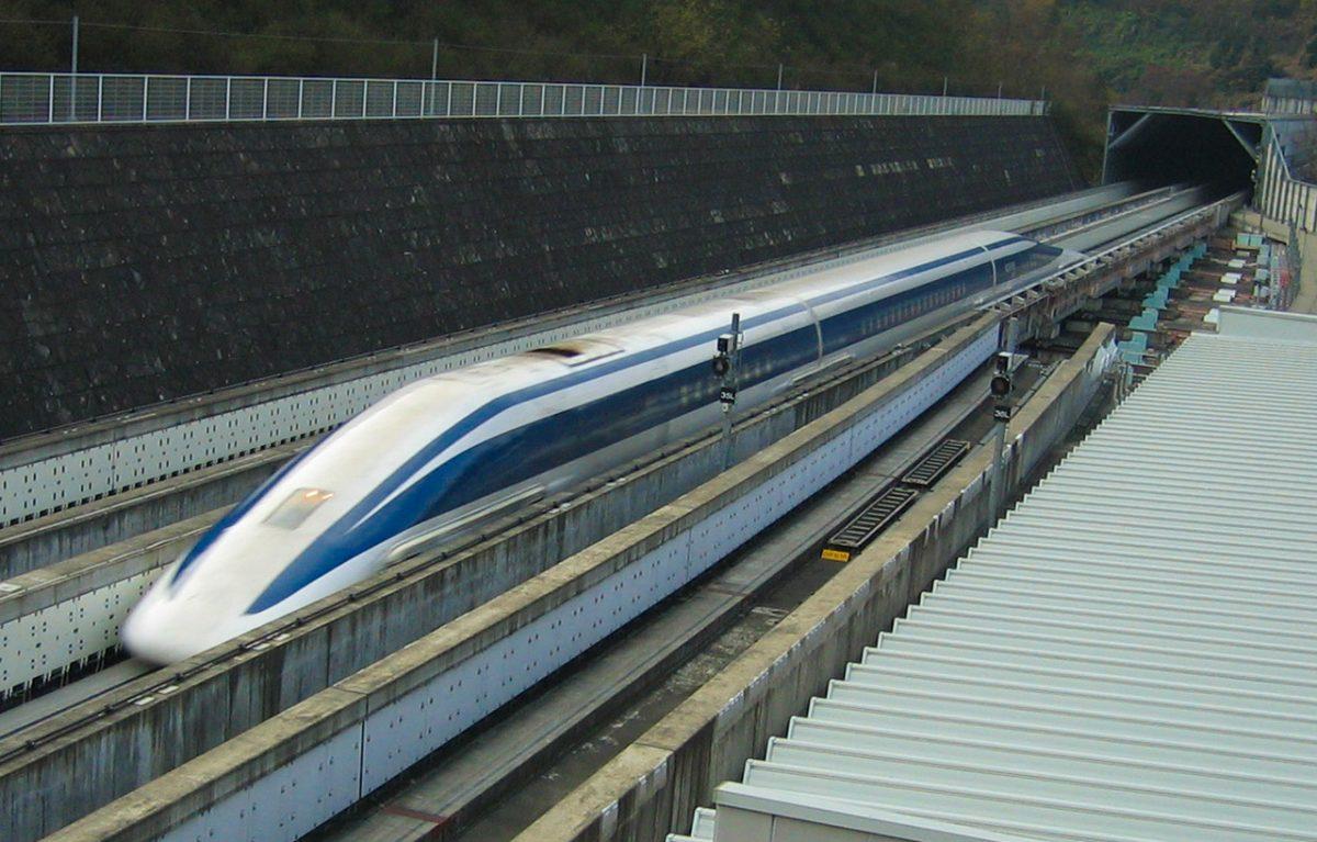 Japan's latest bullet train