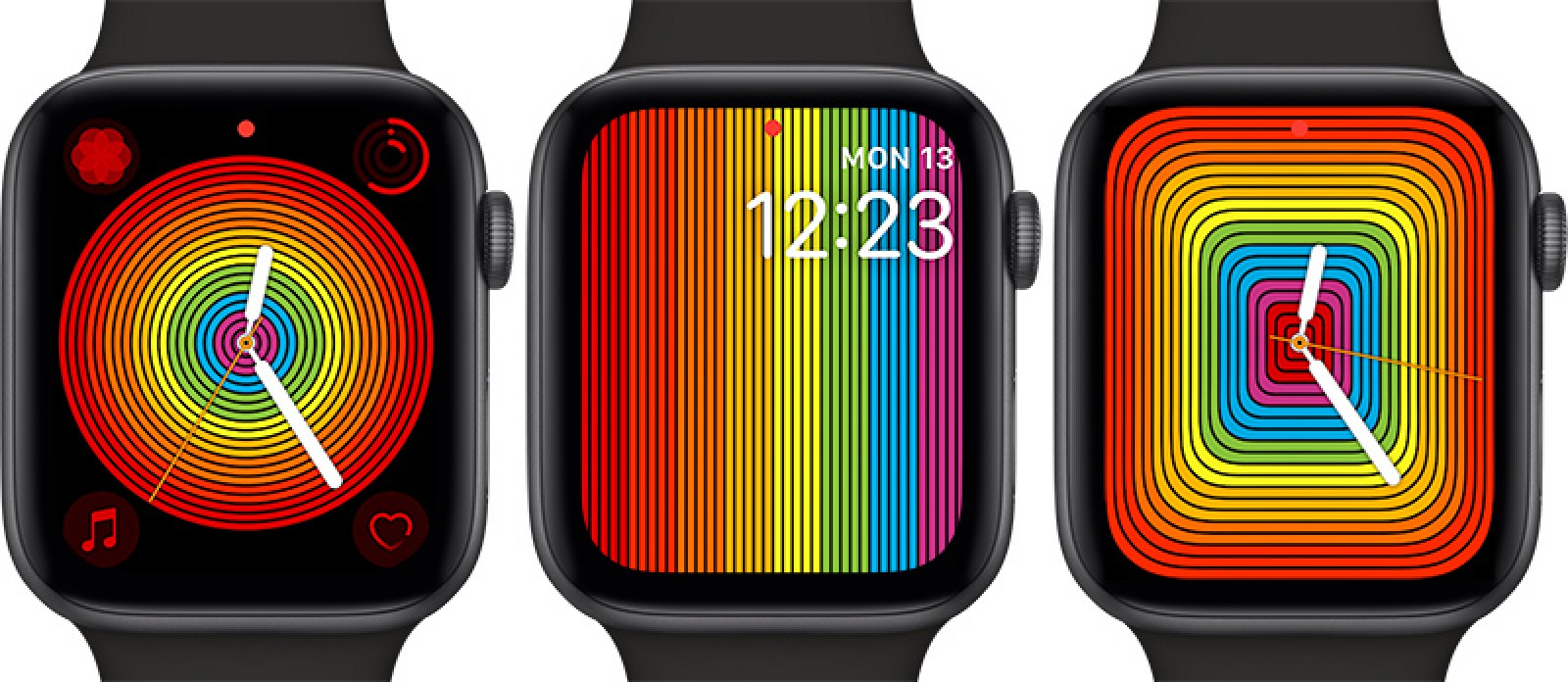 "Apple Watch gets New Version of ""Pride"" Display in watchOS 5.2.1"