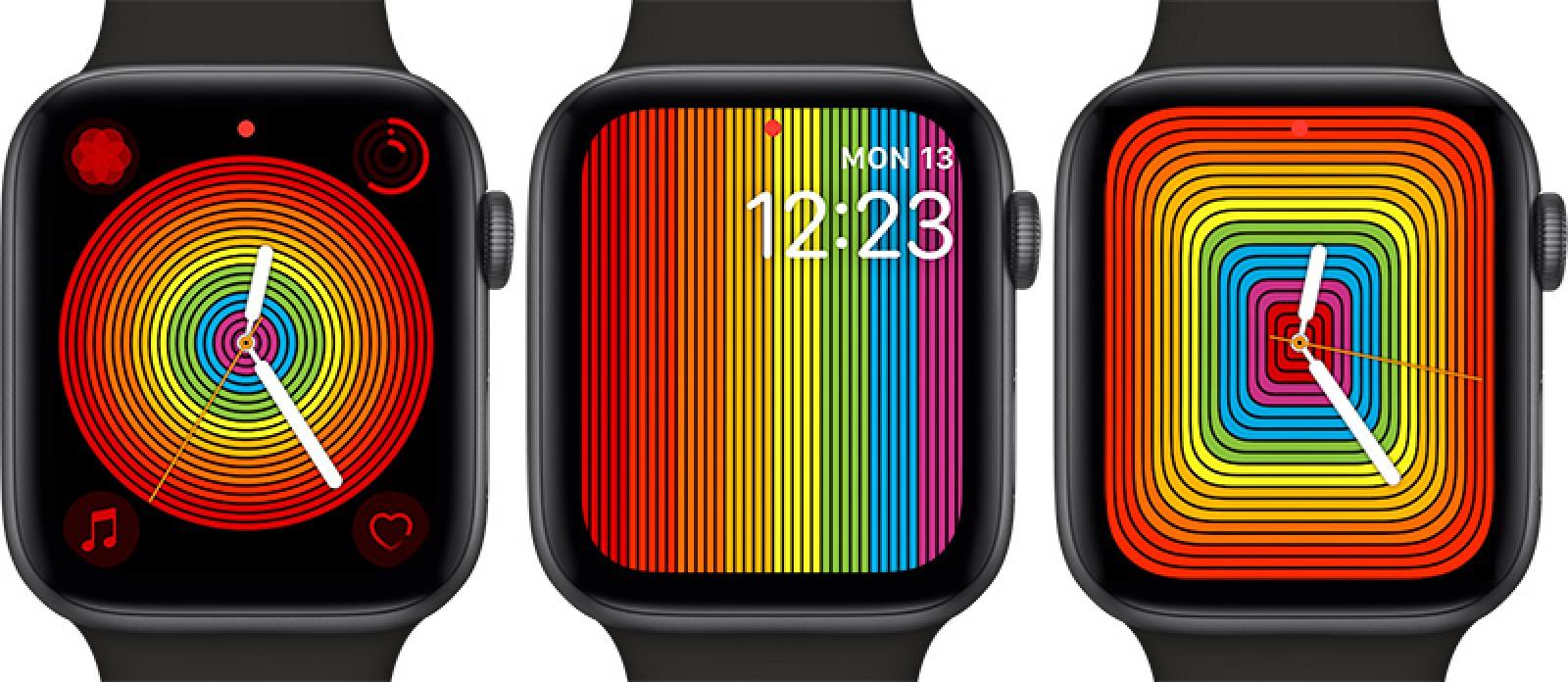 """Apple Watch gets New Version of """"Pride"""" Display in watchOS 5.2.1"""