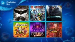 Batman Arkham Knight Tops May's PS Now Novelties