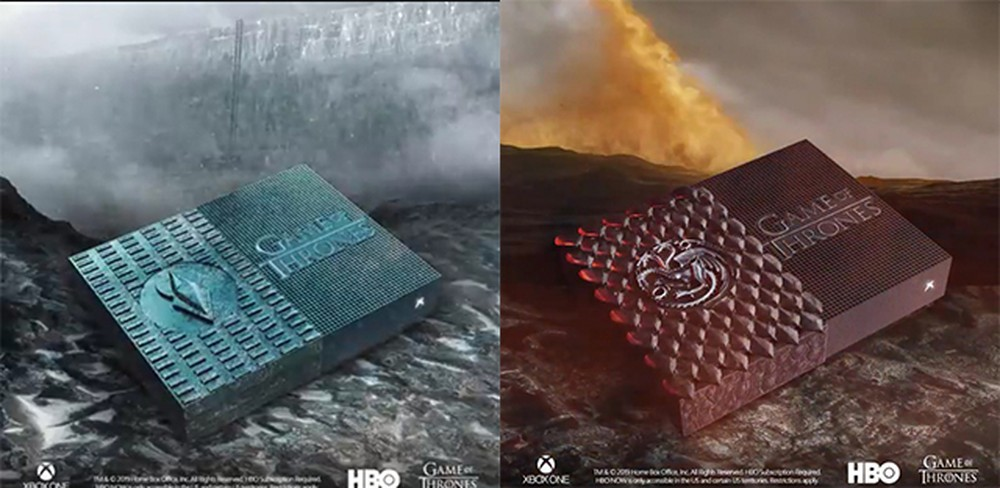 Xbox One S without Disk Gets Styled Version of Game of Thrones