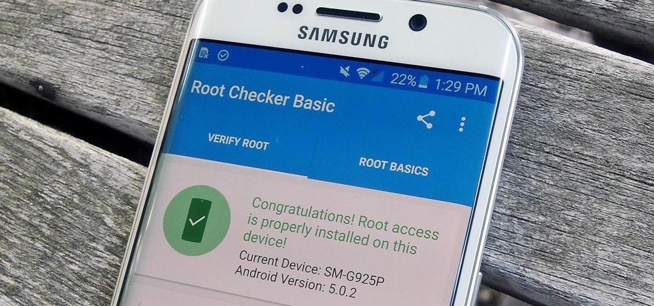 Root Galaxy S6 edge