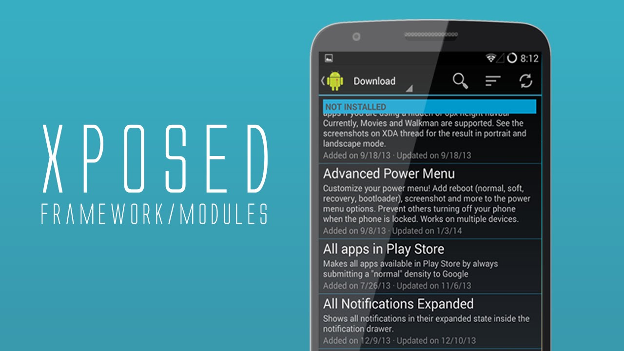 Xposed Framework on LG G2