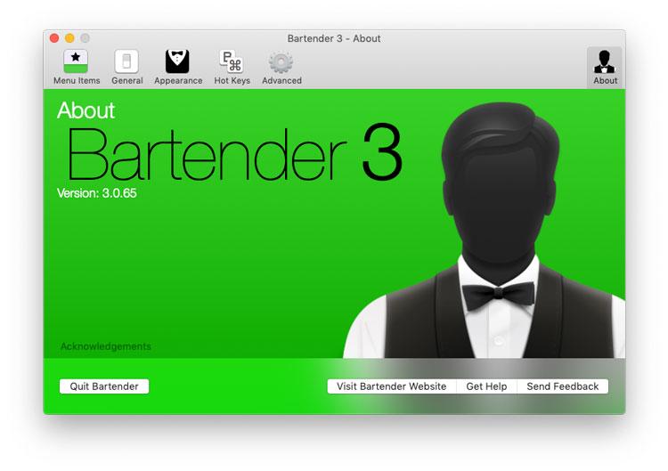 Download Bartender for Mac