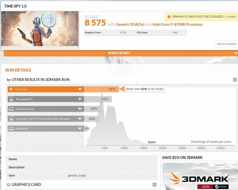 It seems that the AMD Radeon RX 5700 XT has Gone Through 3DMark