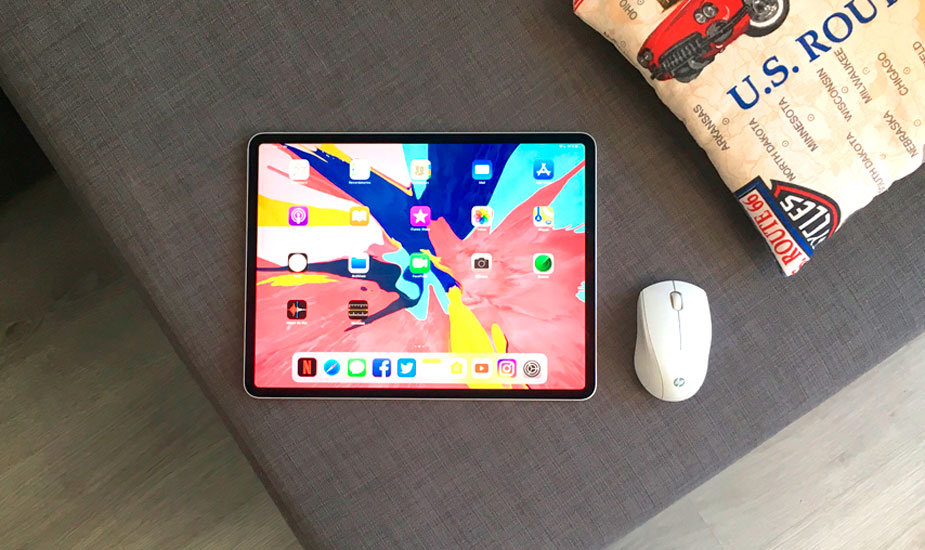 mouse with iPad