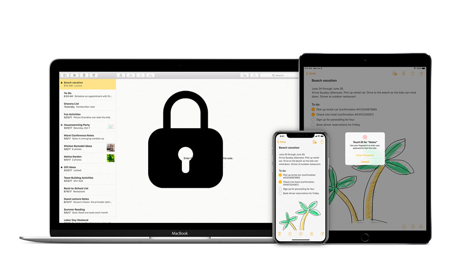 Protect Notes with Password is Possible on iPhone and iPad Discover how to do it!