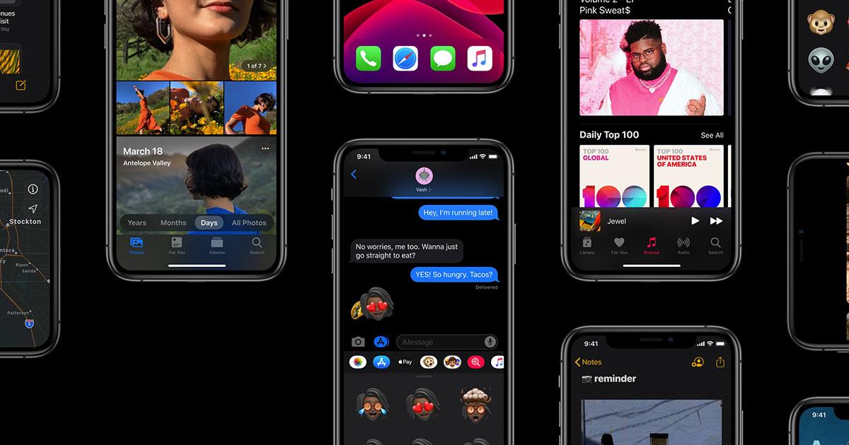 tactile gestures iPhone