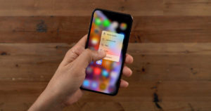 3D Touch on the iPhone