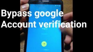 Bypass Google Account Verification