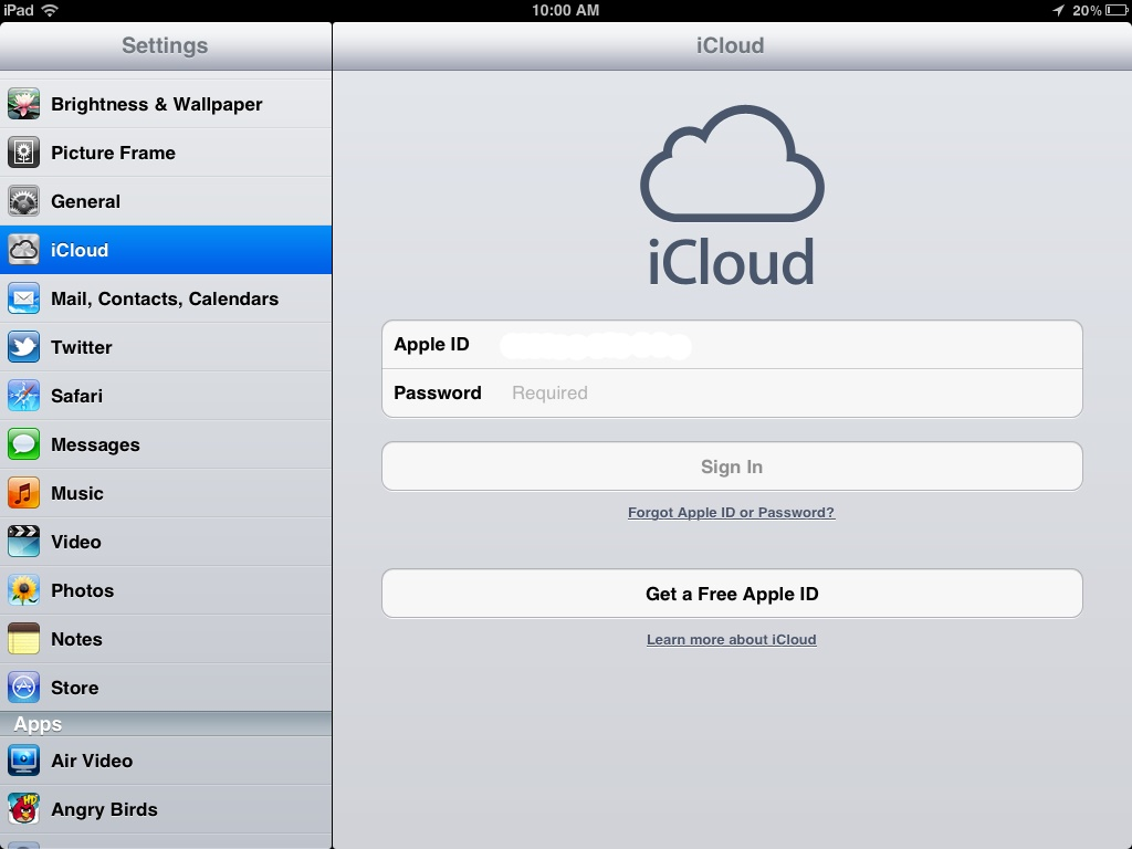 Maximum amount of Free iCloud Accounts: How to Solve
