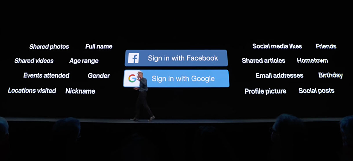"Google Exec Agrees that ""Login with Apple ID"" will help improve Internet Security"