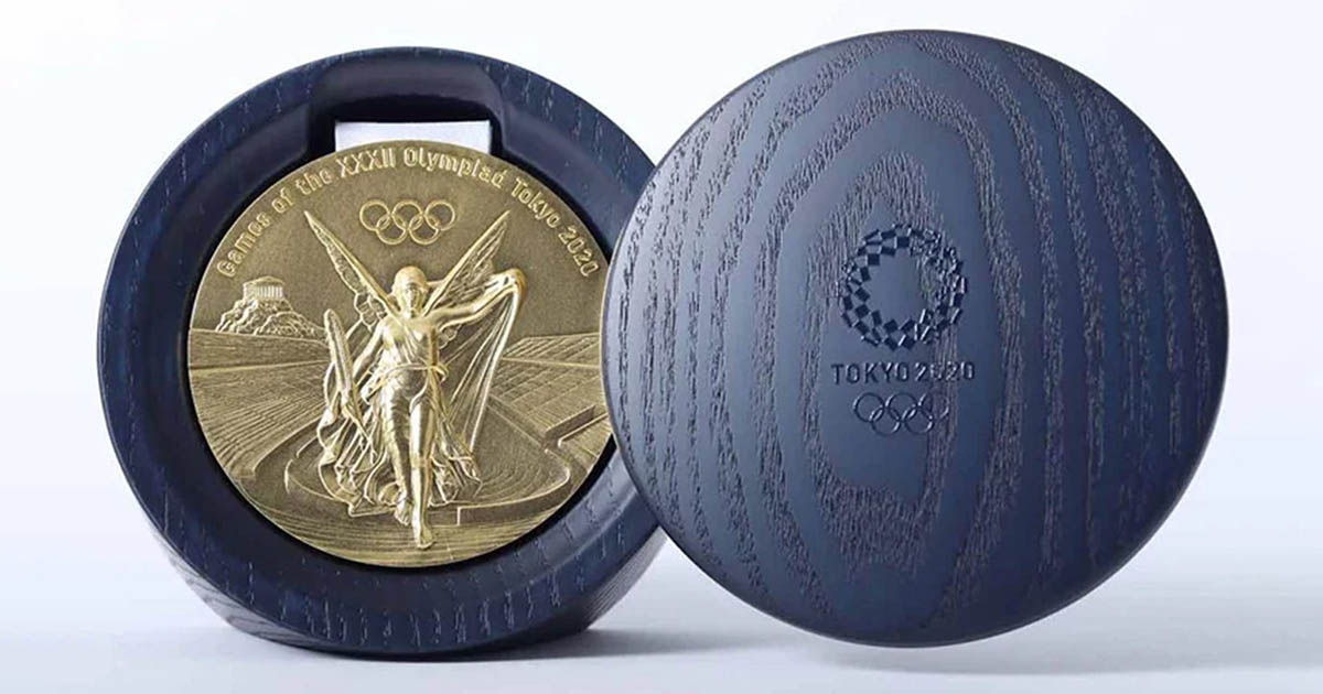 iPhone Olympic Medals
