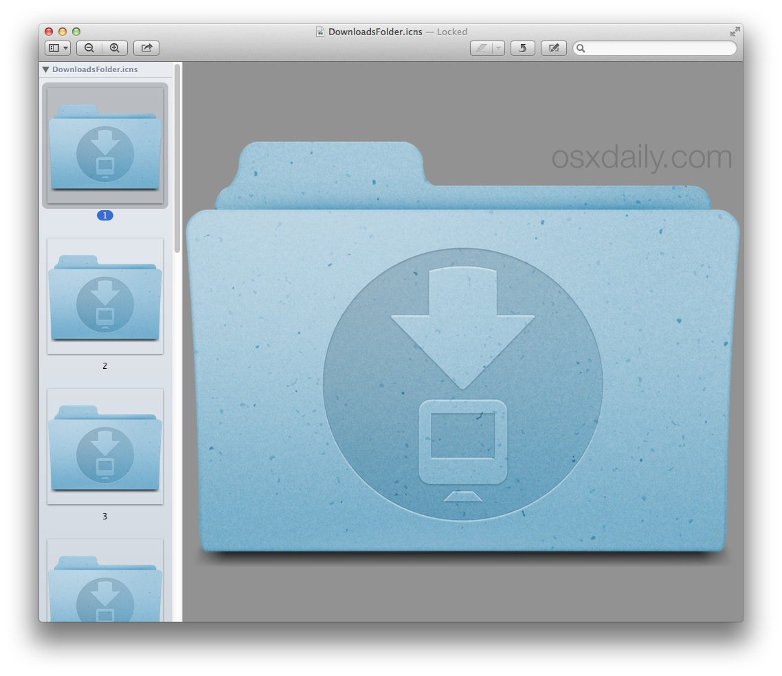 How to Change the icon of any Application or Folder on your Mac