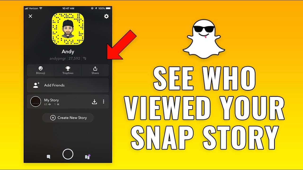 Check Who's Viewed Your Snap Story On Snapchat