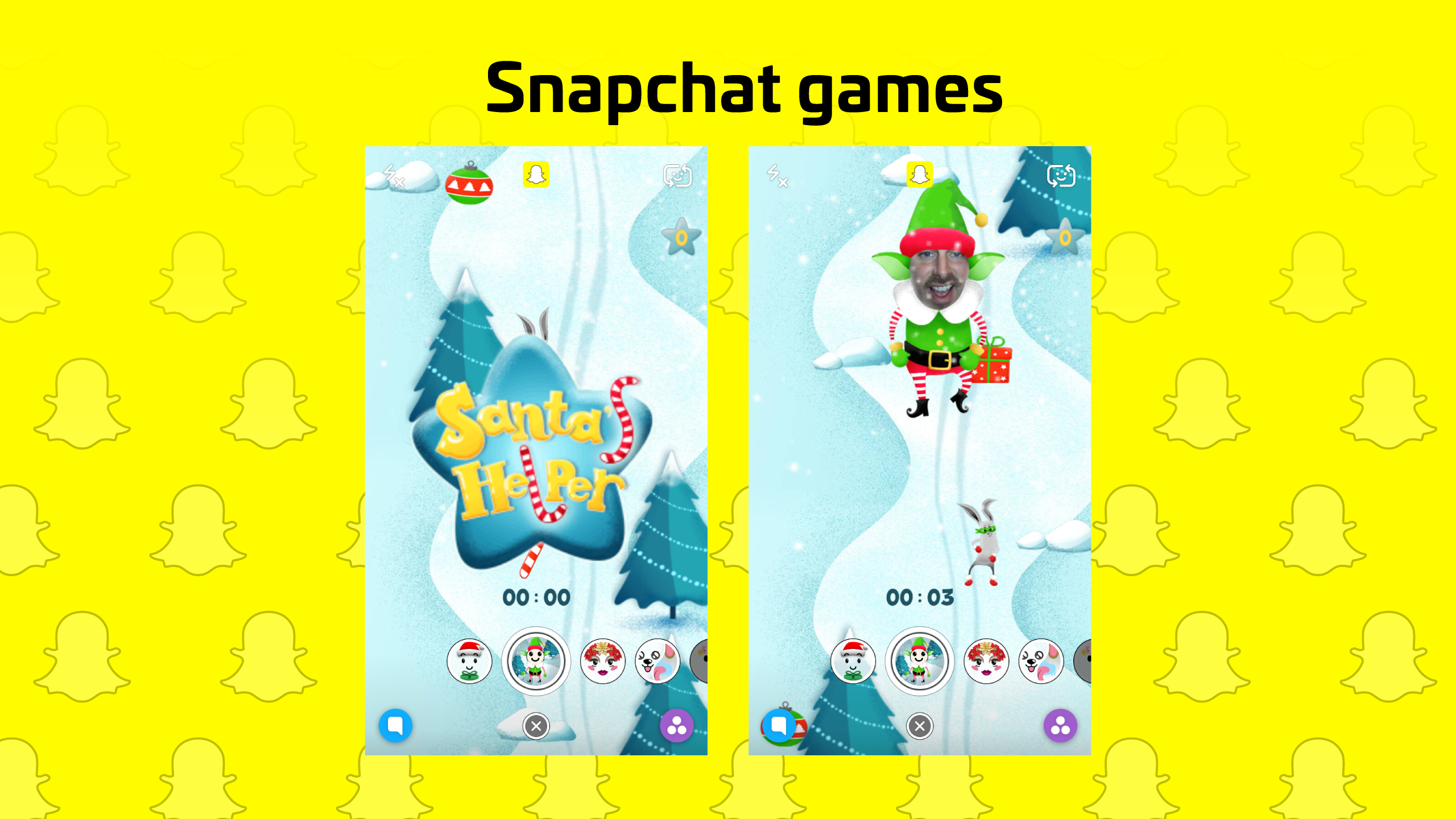 Play Snapchat Games