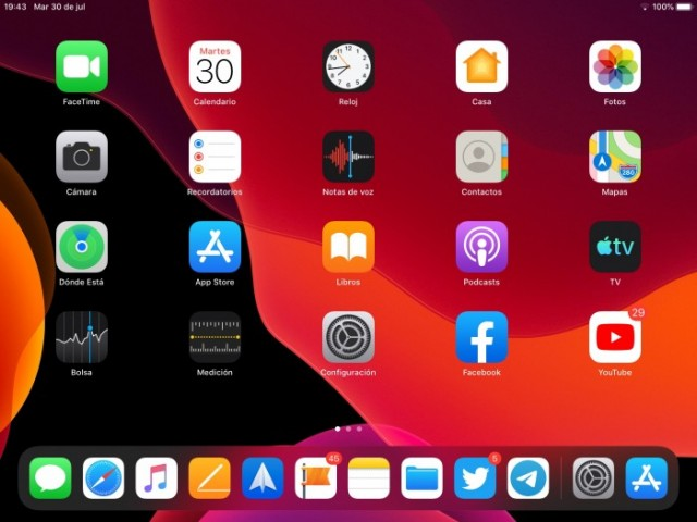 How to change the size of the icons on the Home Screen