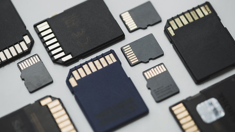 different types of microSD cards