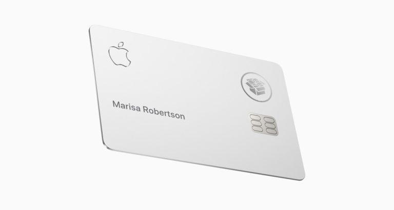 Clean Apple Card