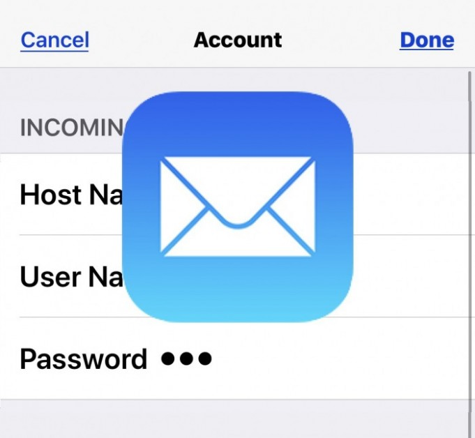 How to update an email password on iPhone and iPad