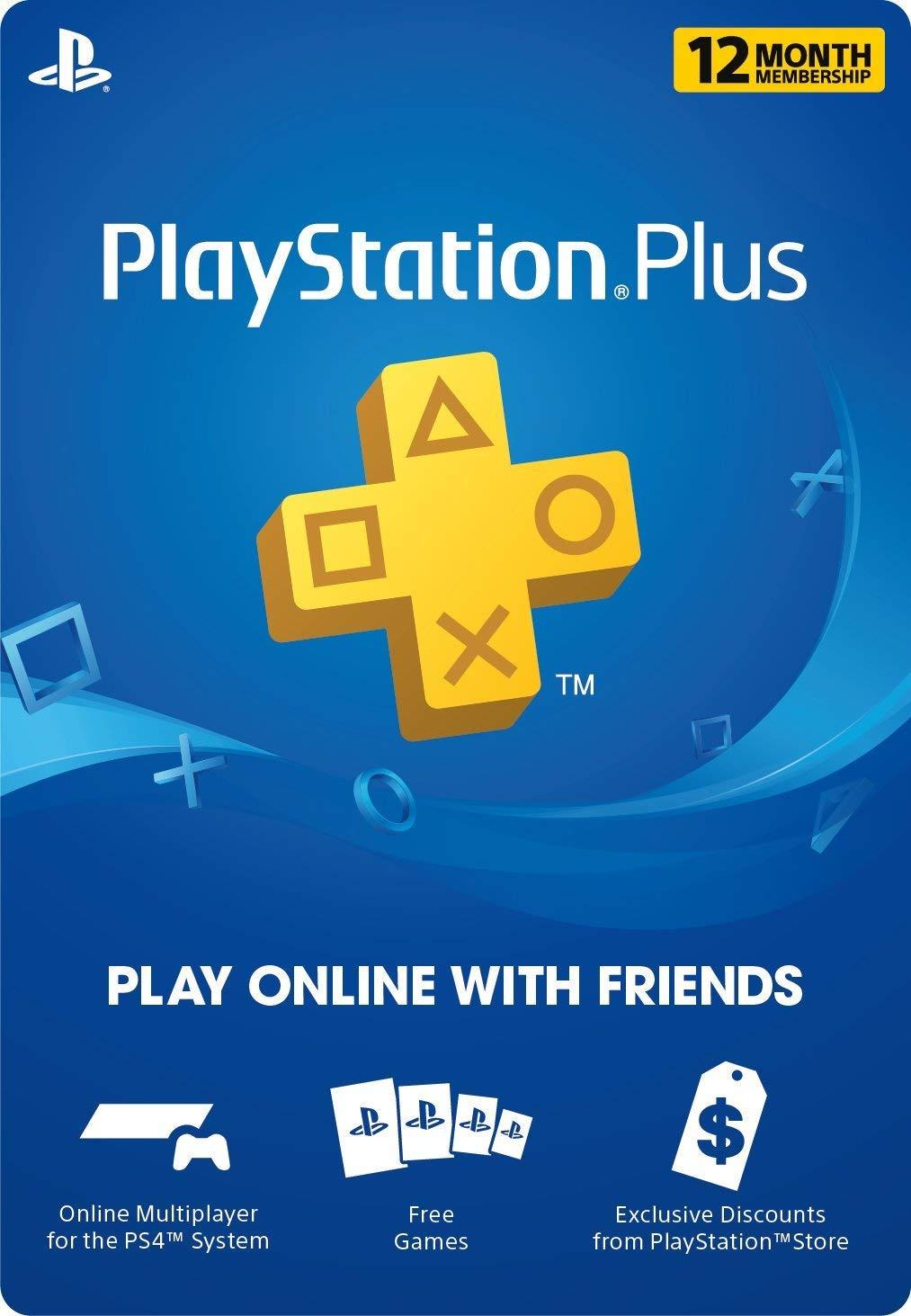 PS Plus 12 Month Digital Code