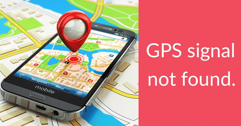 Fix Lost GPS Signal In Google Maps