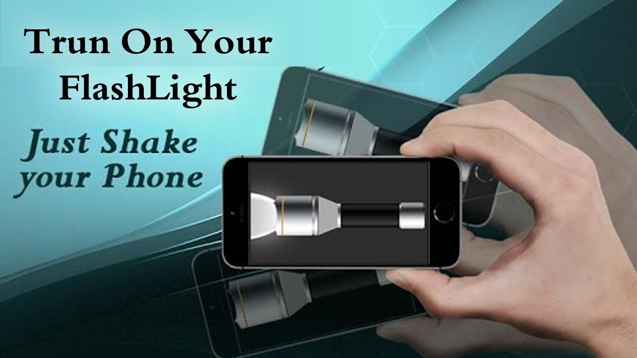 Shake Device To Turn On Flashlight On Android