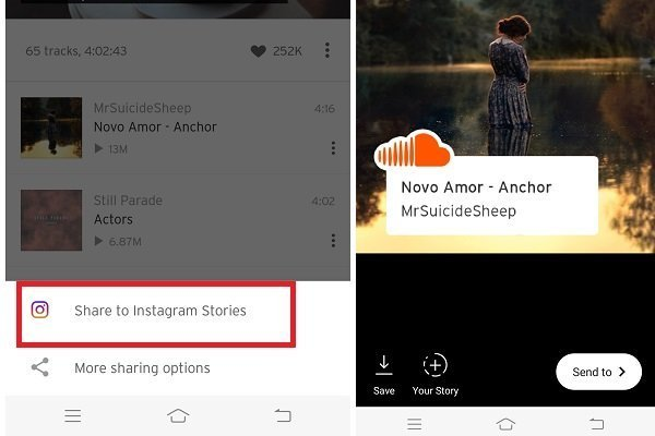 Soundcloud-share-to-instagram-stories