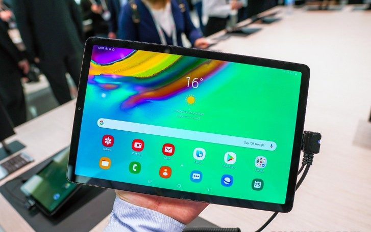 Samsung Galaxy Tab S5e Android 10 update, Security updates