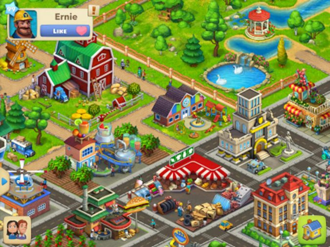 Free City Building Games