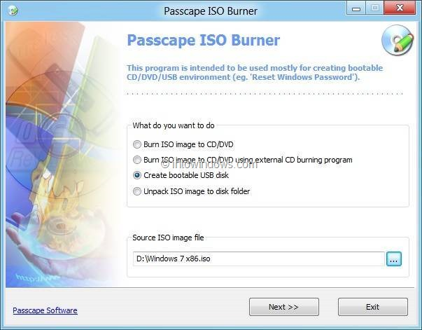 Free USB Bootable Software For Windows