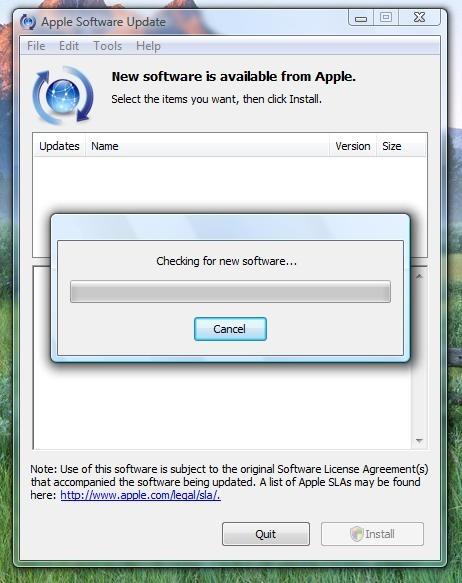 Update Device — Windows