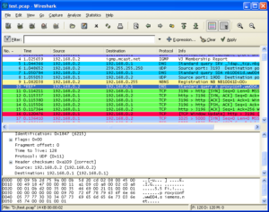 (Wireshark Android)