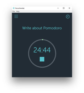 focus boo Pomodoro Timer For Windows