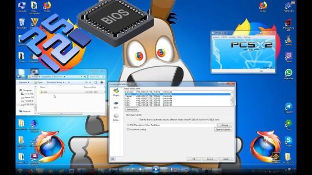 Setup PCSX2 BIOS
