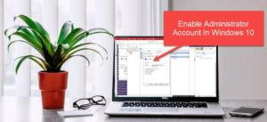 Administrator Account on Windows