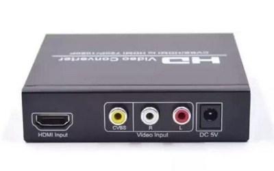 Convert Coax to HDMI