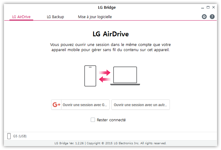 Latest LG Bridge Software